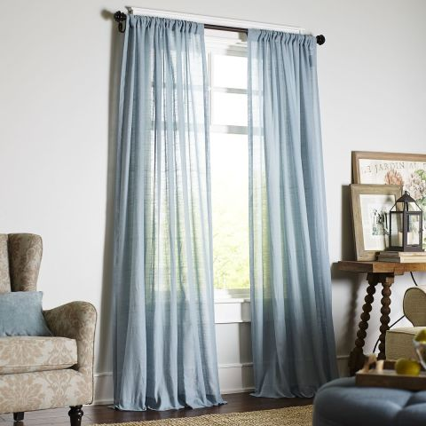 10 best sheer curtains 2018 pretty sheer curtain panels and drapes - Curtains designs images ...