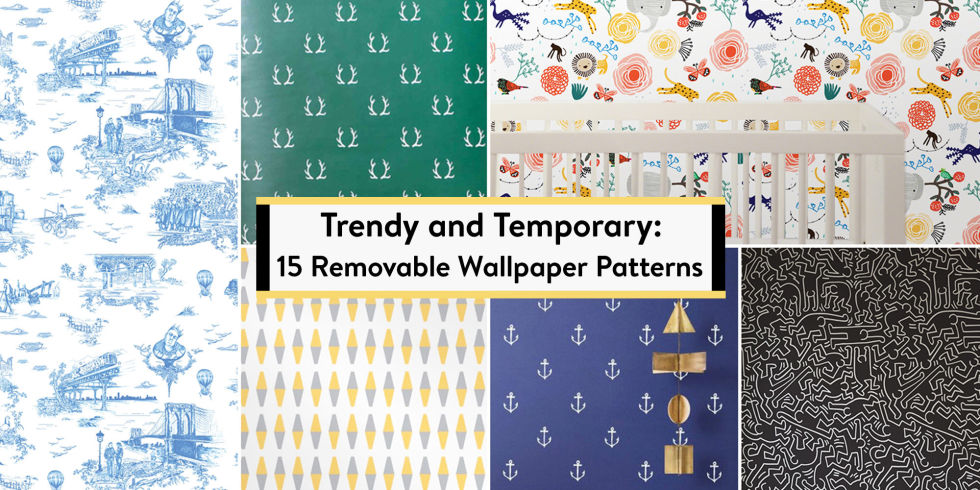 15 best temporary wallpapers for removable wallpaper patterns u0026 ideas