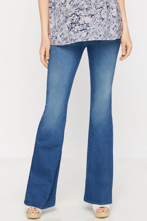 MOTHER Super Flare Maternity Jeans - 8 Best Maternity Jeans In 2017 - Cute Cropped, Flared, And Skinny