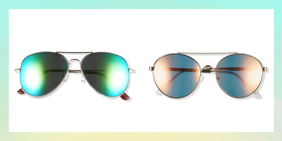 mirrored aviators 2017