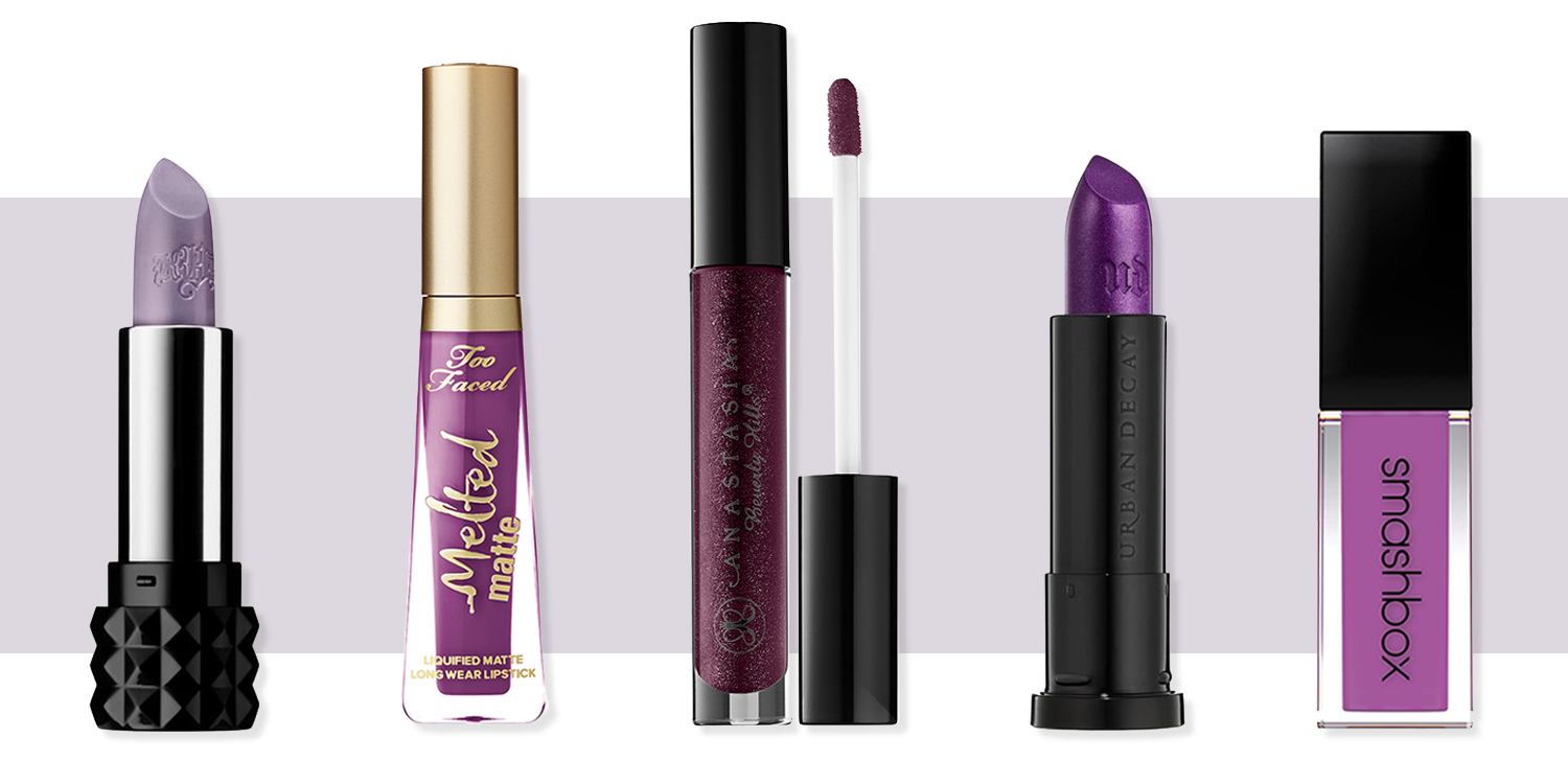 11 Best Purple Lipstick Shades For Spring 2017 Light And