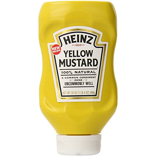 15 best mustard brands in 2018 dijon spicy and yellow for Heinz label template