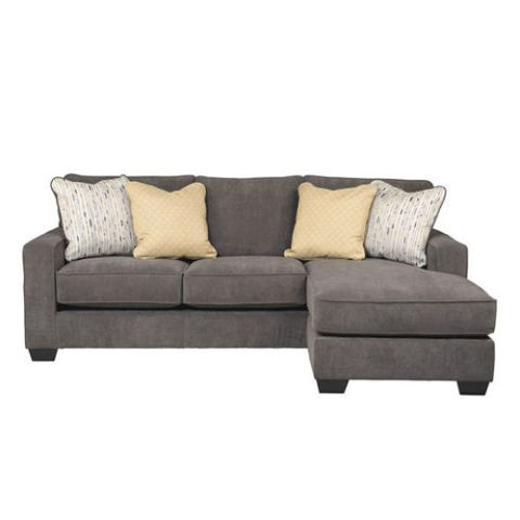 Living Spaces Hodan Sofa Chaise  sc 1 st  BestProducts.com : sofas with chaise - Sectionals, Sofas & Couches