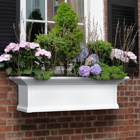 11 Best Window Boxes for Summer 2017 - Window Boxes and Planters ...