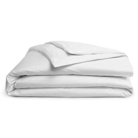 White Brighton Hill Egyptian Cotton Double Bed White Duvet//Quilt Cover