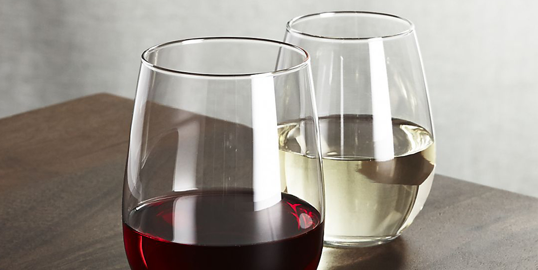17 Best Stemless Wine Glasses In 2017 Unique White And