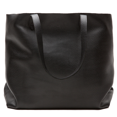 12 Best Black Leather Tote Bags in 2017 - Black Leather Totes and ...