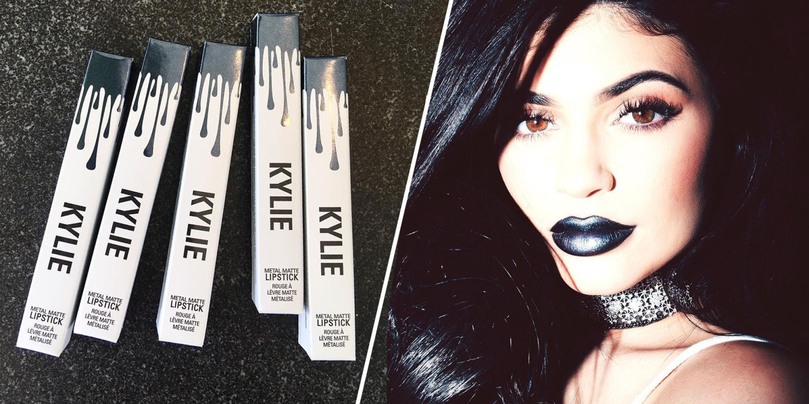 Romantic Things To Do In The Bedroom Kylie Jenner Metallic Matte Lipkit Kylie Cosmetics