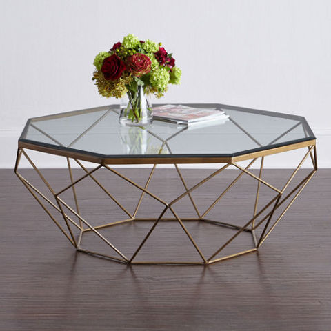 horchow mystique coffee table