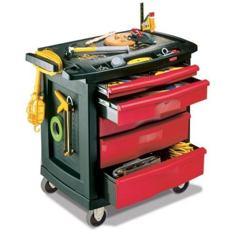 Rubbermaid 5 Drawer Mobile Work Center