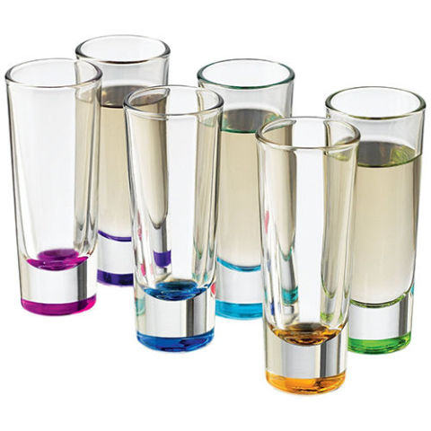 Set of shot glasses