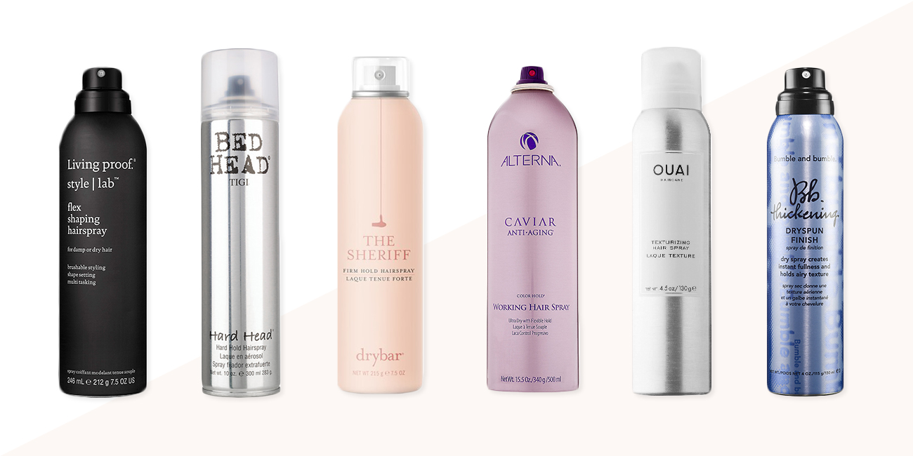 11 best hair spray brands in 2018 - flexible and firm hold hair sprays