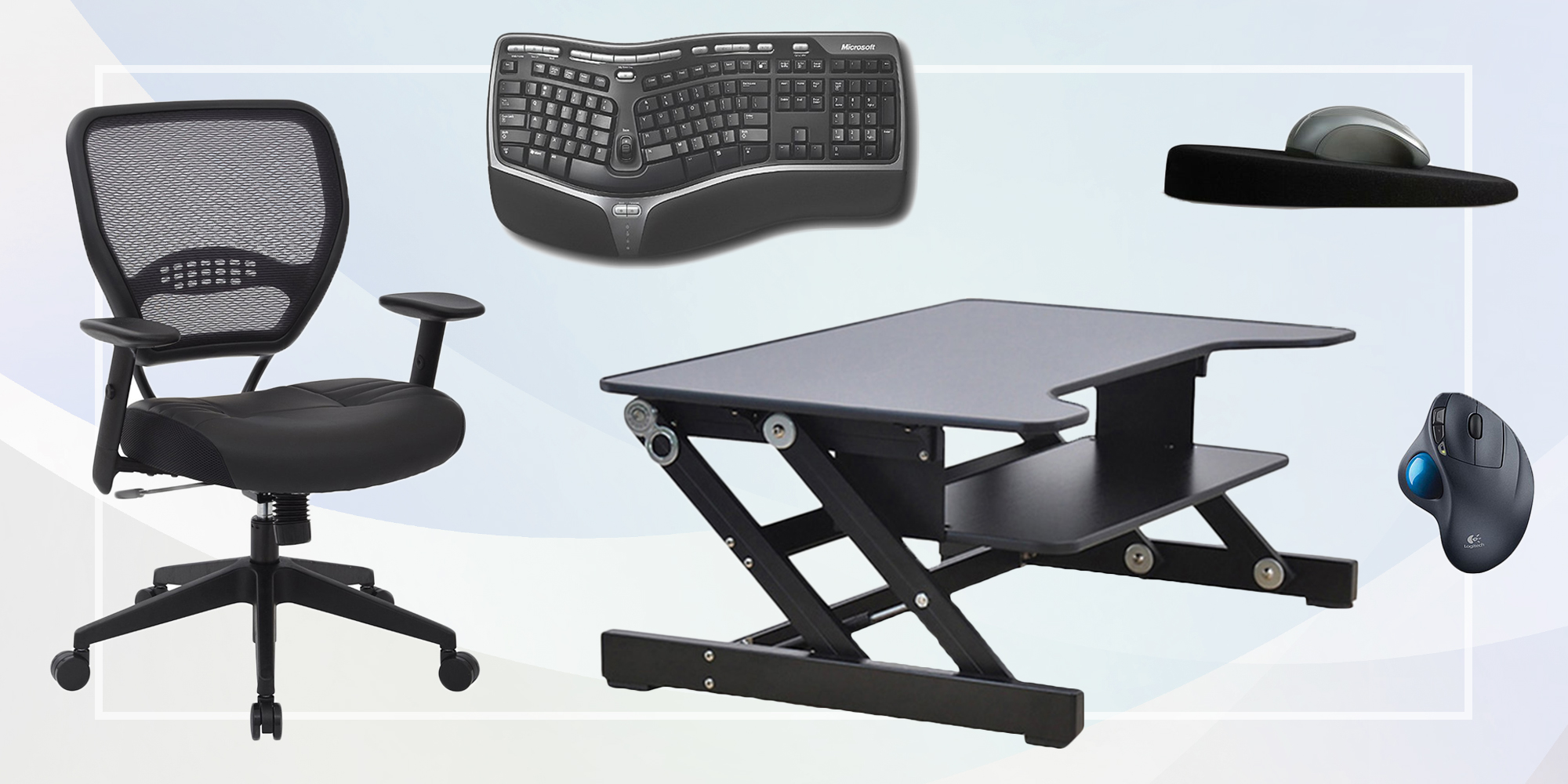 25 Best Ergonomic Furniture 2018 Ergonomic Office Chairs Keyboards And More