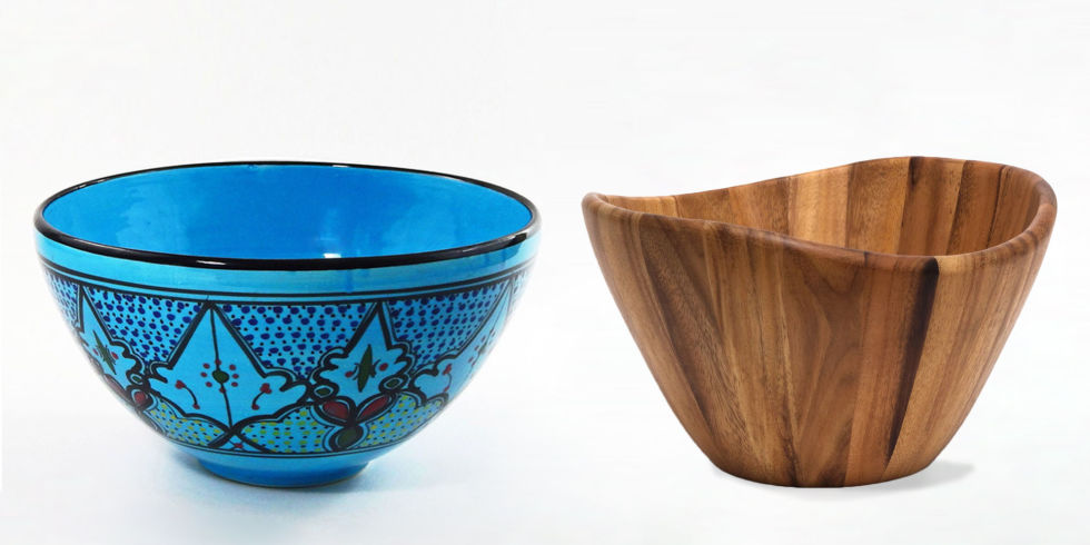 salad serving bowls