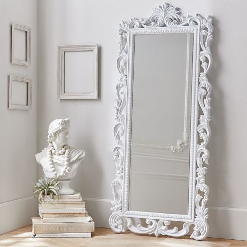 12 best full length mirrors in 2017 chic standing and for Floor mirror white frame