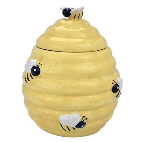 12 best cookie jars for 2018 cute ceramic cookie jars and canisters - Beehive cookie jar ...