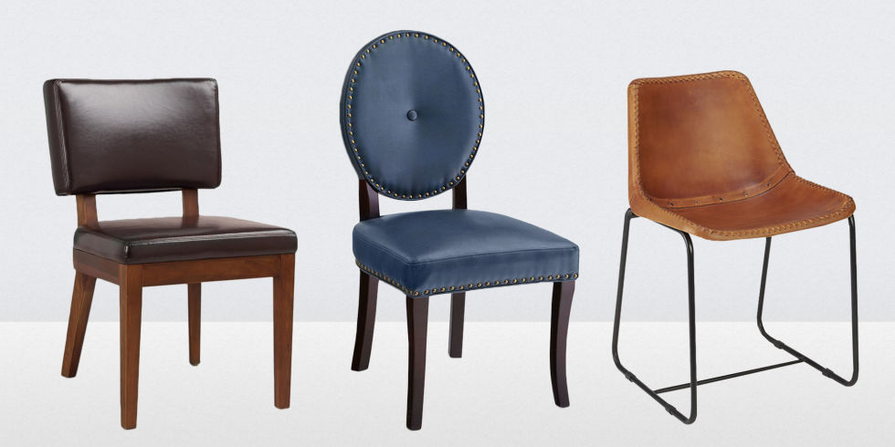 13 best leather dining room chairs in 2018 - leather side, arm