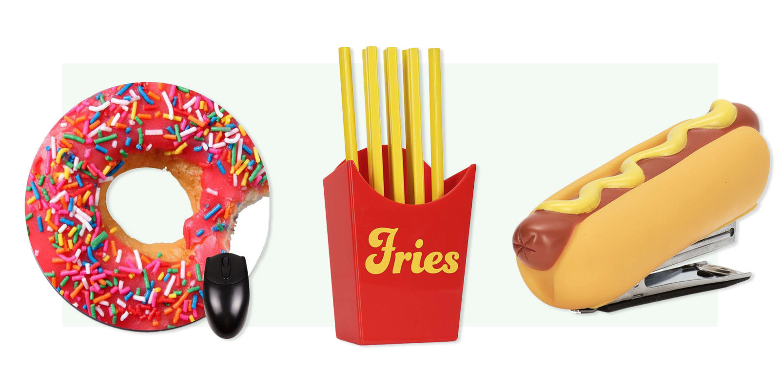 15 Quirkiest Desk Accessories in 2017 - Food Themed Desk ...