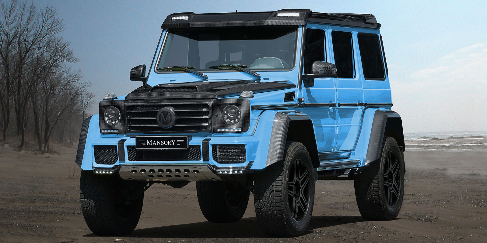mansory announces new mercedes g wagon 2018. Black Bedroom Furniture Sets. Home Design Ideas