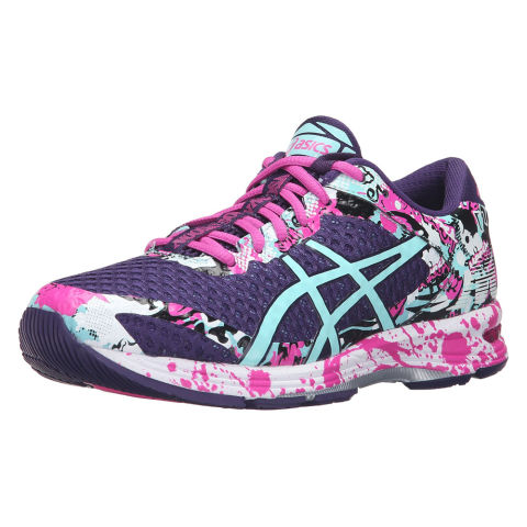 asics woman black sneakers