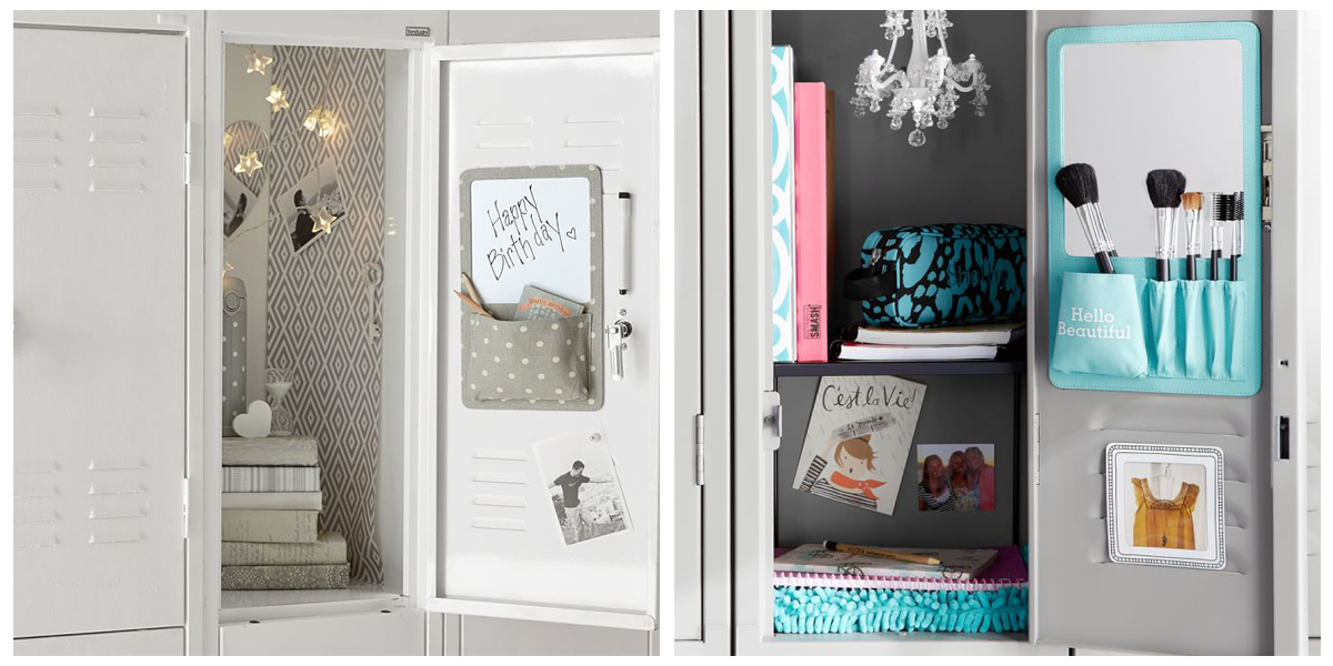 9 best locker decorations and organizers 2017 locker accessories and decorations