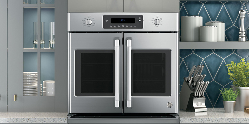 Large Built In Double Oven Part - 23: Wall Ovens