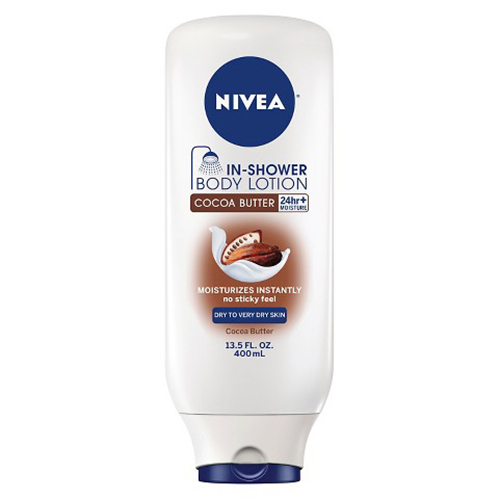 In shower lotion