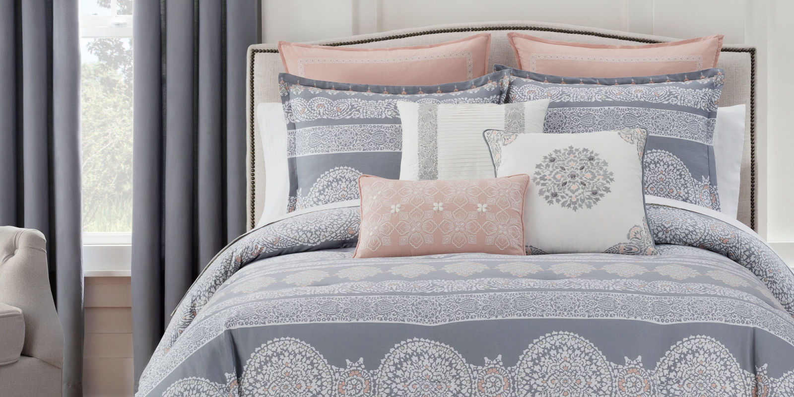 Enter Our Sweepstakes To Win A Comforter Set And Pillows