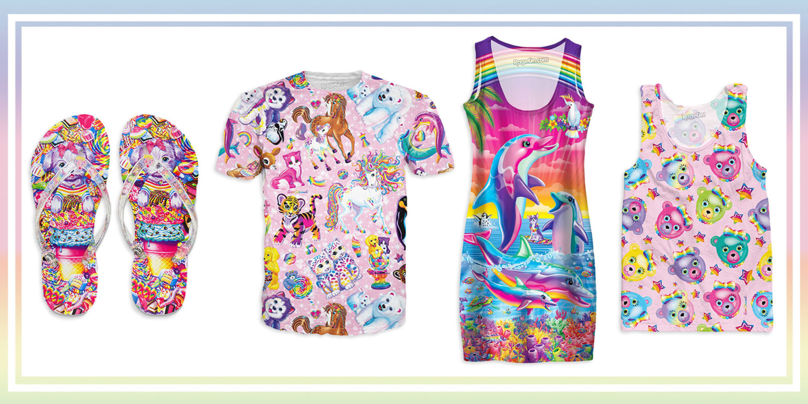 10 Best Lisa Frank Clothes 2017 Lisa Frank Tops