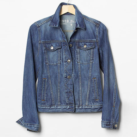 10 Best Denim Jackets for Women Fall 2017 - Classic Blue Jean Jackets