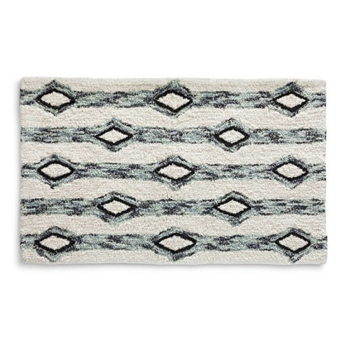 Best Bath Mats And Rugs Absorbent Rugs And Mats For Your - Target black and white bath rug for bathroom decorating ideas
