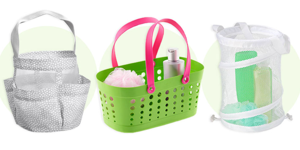 Plastic Shower Caddy For College