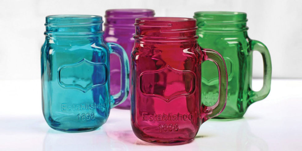 15 best mason jars in every size and color 2017
