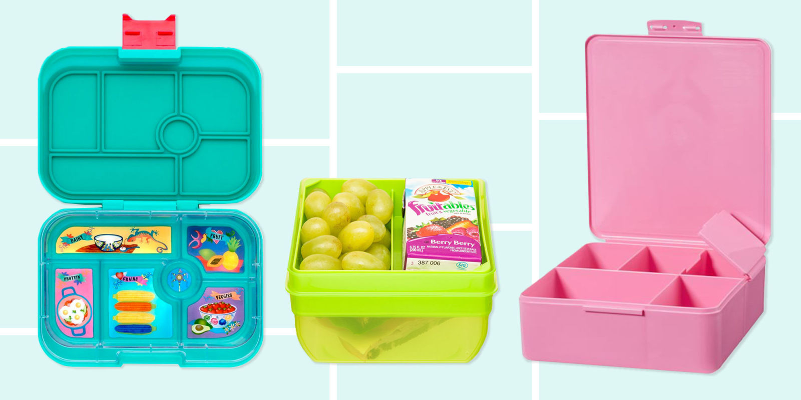 13 best bento boxes for kids in 2018 insulated bento box lunch kits. Black Bedroom Furniture Sets. Home Design Ideas