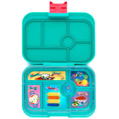 Yumbox Aqua Bento Box  sc 1 st  BestProducts.com & 13 Best Bento Boxes for Kids in 2018 - Insulated Bento Box Lunch Kits Aboutintivar.Com