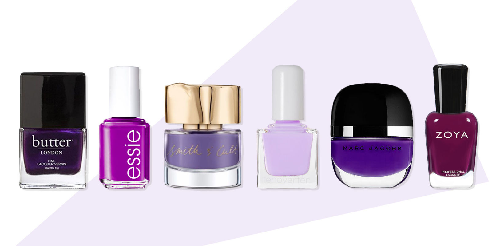 9 Best Purple Nail Polish Colors For Fall 2018 Lavender