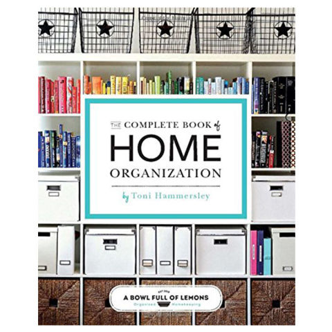 the complete book of home organization 200 tips and projects - Books On Home Design
