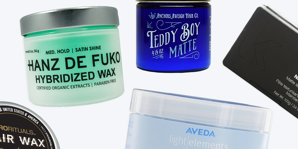 Mens Hair Styling Wax: 14 Best Hair Wax Products For Men In 2017