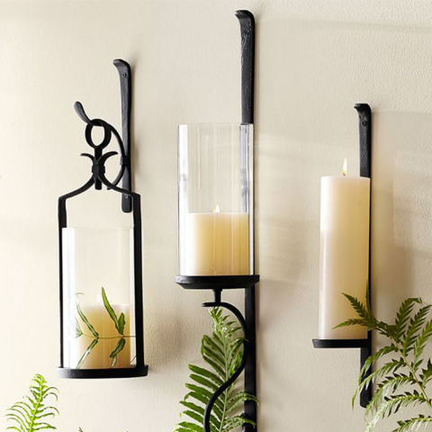 Wall Hanging Candle Holders 14 best wall mount candle sconces 2017 - decorative candle sconces
