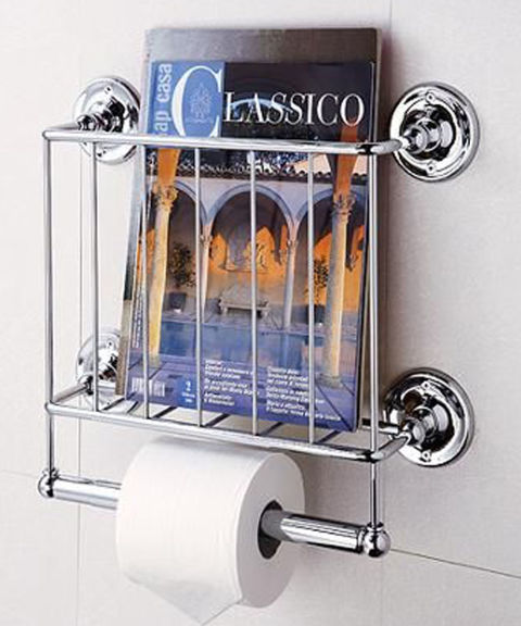 12 Best Bathroom Magazine Racks 2018 Wire and Wall Mount