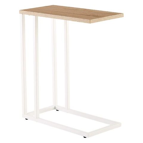 The Container Store Rustic Oak C Table