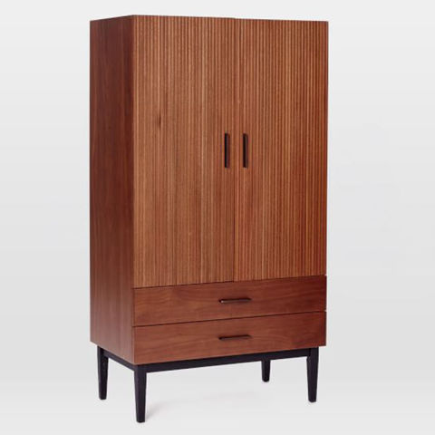 West Elm Reede Armoire. 13 Best Armoire Wardrobes in 2017   Armoire Cabinets with Shelves