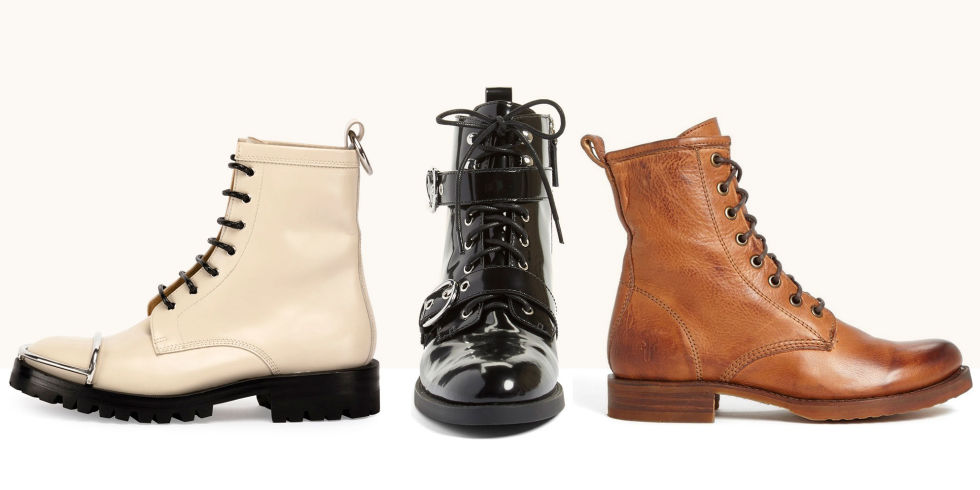 8 Best Combat Boots For Women in Fall 2017 - Brown and Black