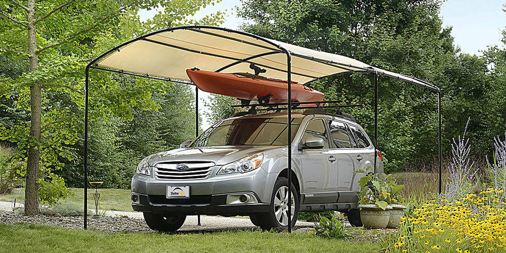 Decorative Metal Car Shelters : Best car covers and canopies weatherproof outdoor