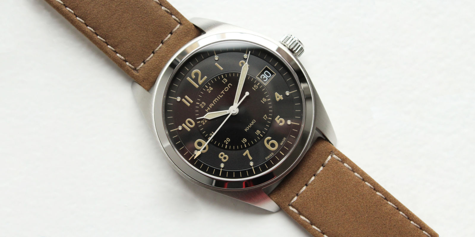 Enter Our Sweepstakes For A Chance To Win A Hamilton Khaki