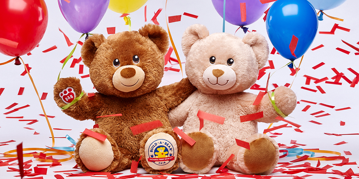 Celebrate National Teddy Bear Day 2018 With Build A Bear