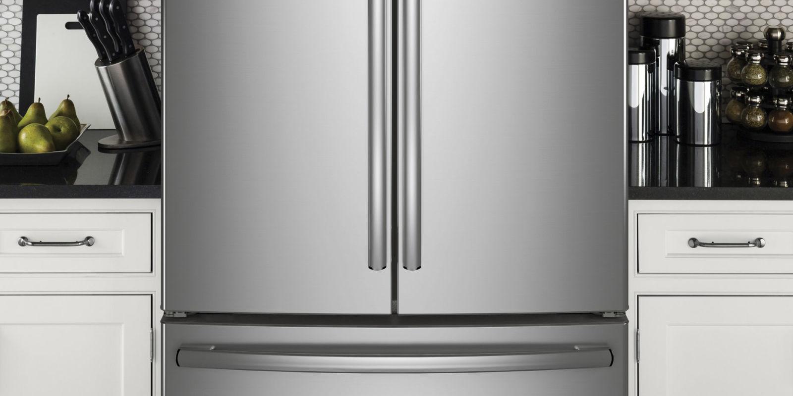 Small Kitchen Large Refrigerator