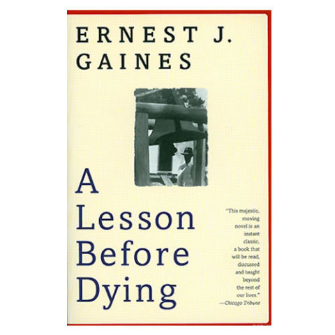 a synopsis of a lesson before dying a novel by ernest j gaines Written by ernest j gaines, narrated by lionel mark smith, roger guenveur  smith download the app and start listening to a lesson before dying today -  free with a 30 day trial  1 credit/month after trial – good for any book, any price   the story is wonderfully written -- tightly woven but the author takes his time  so you.