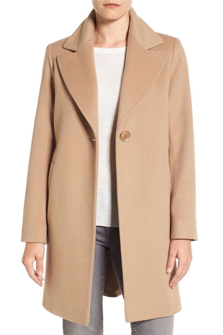 Camel Coat Wool