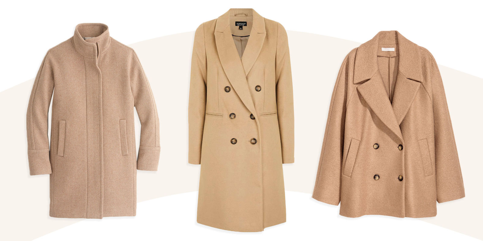 8 Best Camel Coats for Winter 2017 - Womens Double